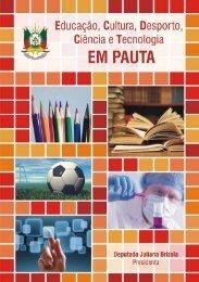 Relatório de Atividades de 2011 e 2012 - Assembléia Legislativa ...