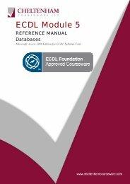 ECDL Module 5