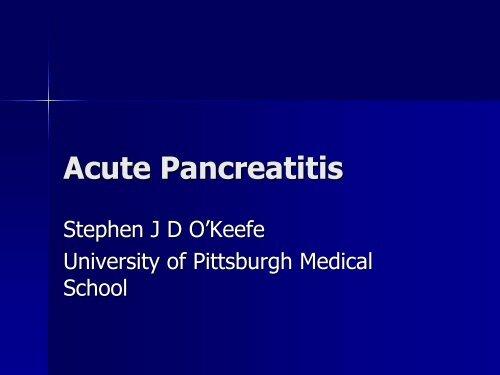 TPN and Acute Pancreatitis
