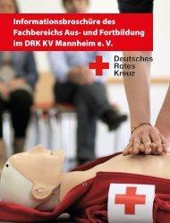 und Fortbildung - DRK-Kreisverband Mannheim e.V.