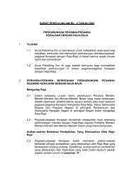 SURAT PEKELILING AM BIL - Jabatan Perdana Menteri