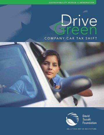 Drive Green: Company Car Tax Shift - David Suzuki Foundation