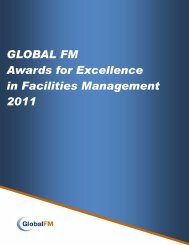 GLOBAL FM Awards for Excellence in Facilities ... - safma