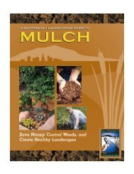 A Bay-Friendly Landscaping Guide to Mulch - Foster City