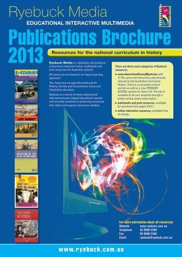 educational interactive multimedia - Ryebuck Media
