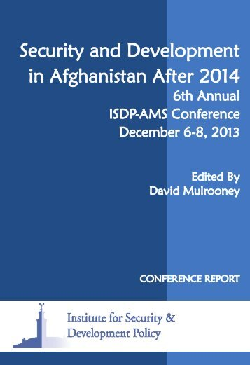2014-mulrooney-security-and-development-in-afghanistan-after-2014-conference-report
