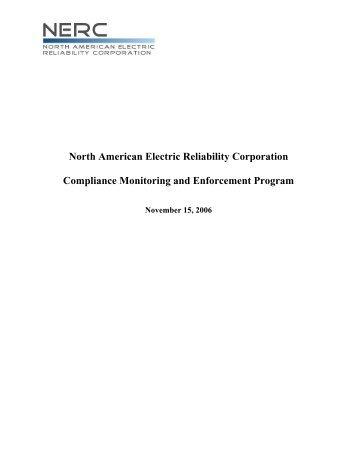 Master NERC CMEP.pdf - SERC