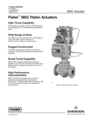 2052 actuator instruction manual