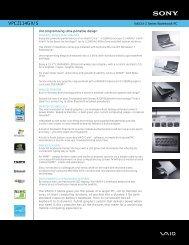 VPCZ114GX/S - How To & Troubleshooting - Sony.com