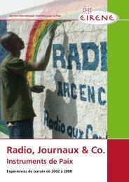 Radio, Journaux & Co. - Ziviler Friedensdienst