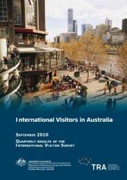 International Visitors in Australia, September Quarter 2010.pdf