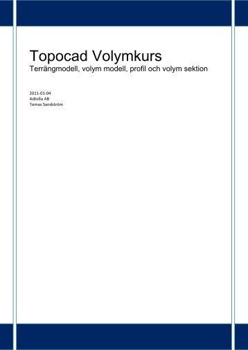 Topocad Volymkurs.pdf - Adtollo