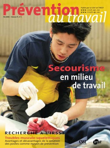 Secourisme en milieu - CSST