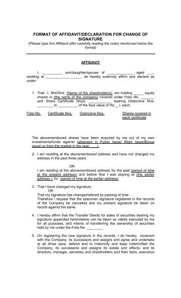 how to put annexure in a document