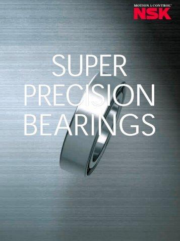 SUPER PRECISION BEARINGS - Wama-Service