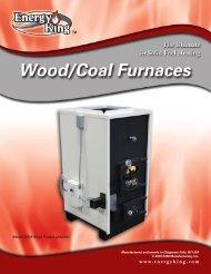 ENERGY KING 385EK/365EK/480EK Wood/Coal Furnace Brochure ...