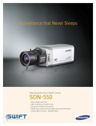 Samsung SDN-550 High-Res Day/Night Camera - Swift Alarms Group