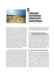 prospek reformasi kebijakan kehutanan - Forest Watch Indonesia