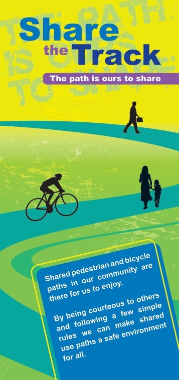 Share the Track - Healthy Cities Illawarra