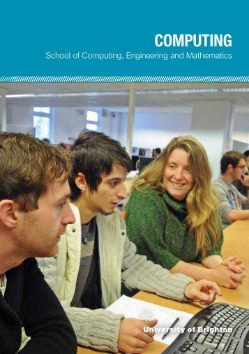 COMPUTING - Intranet - University of Brighton