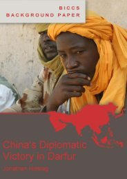 China's Diplomatic Victory in Darfur - Vrije Universiteit Brussel