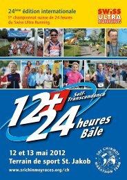 d'inscription - Sri Chinmoy Marathon Team - Schweiz