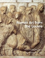 Roman Art from the Louvre Educators' Resource Guide