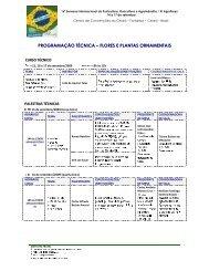 Curso / Palestras / Seminários / Oficinas Florais