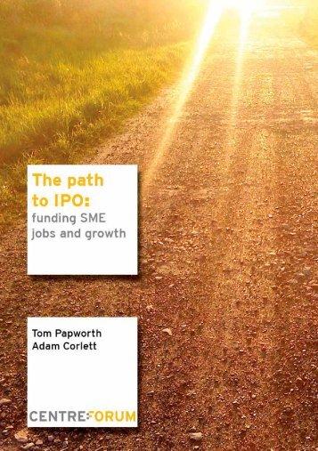 The path to IPO - CentreForum