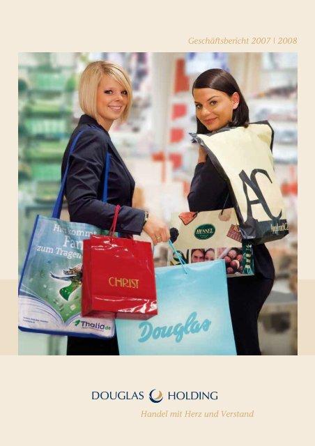 21622a383f3274 Geschäftsbericht 2007 | 2008 - Douglas Holding