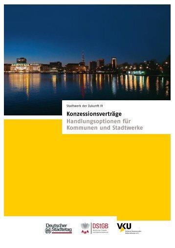 Konzessionsverträge Handlungsoptionen für Kommunen und ...