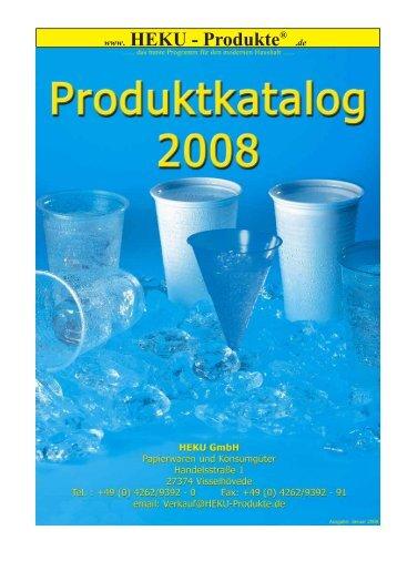 NEU - HEKU GmbH Papierwaren und Konsumgüter