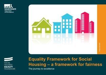 Item 1 Equality Framework for Social Housing Achievement Journey