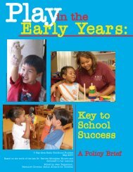 Play in the Early Years - Mayo County Childcare Committee