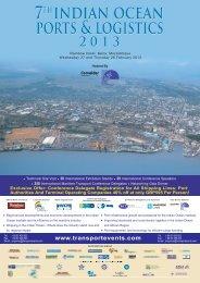 Conference Delegate Registration For - Transport Events ...