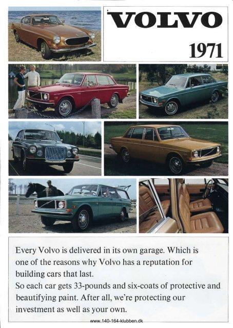 brochure - Volvo 164