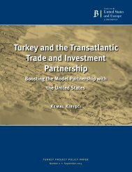 turkey and the transatlantic trade and investment partnership