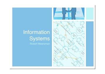 Information Systems - VUB STAR lab