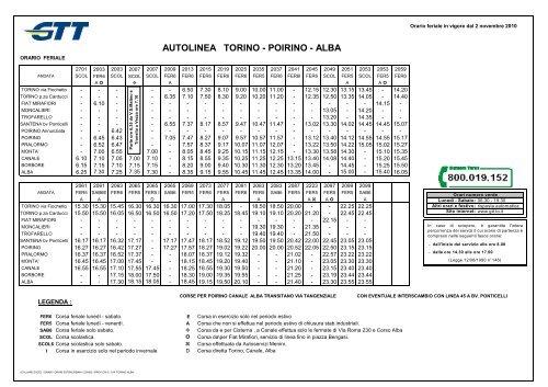 come comprare prestazioni superiori design raffinato Visualizza l'orario in vigore fino al 31.10.2011 - Mobilita ...