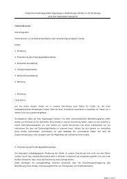 Kita-Integration - Integrative Kindertagesstätte Regenbogen - Spenge