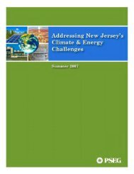 addressing new jersey - PSEG