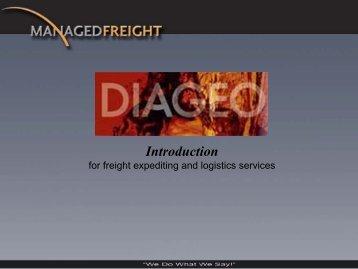 Managed Freight - OffGridGraphics.com