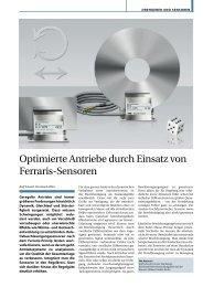 Optimierte Antriebe durch Einsatz von Ferraris ... - Baumer Hübner