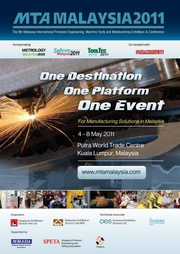 4 - 8 May 2011 Putra World Trade Centre Kuala Lumpur, Malaysia ...