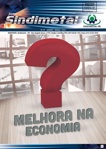 Edição nº 79 - Janeiro, Fevereiro e Março de 2013 - Sindimetal/PR
