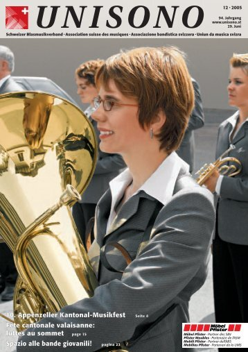 Schweizer Blasmusikverband • Association suisse des musiques