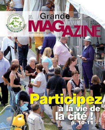 Magazine d'avril - Ville de Grande-Synthe