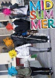 Cork Midsummer Festival Brochure
