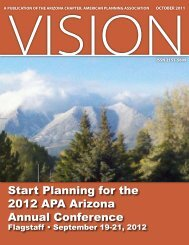 October 2011 - Arizona Planning Association