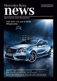 the latest news from Lookers Mercedes-Benz